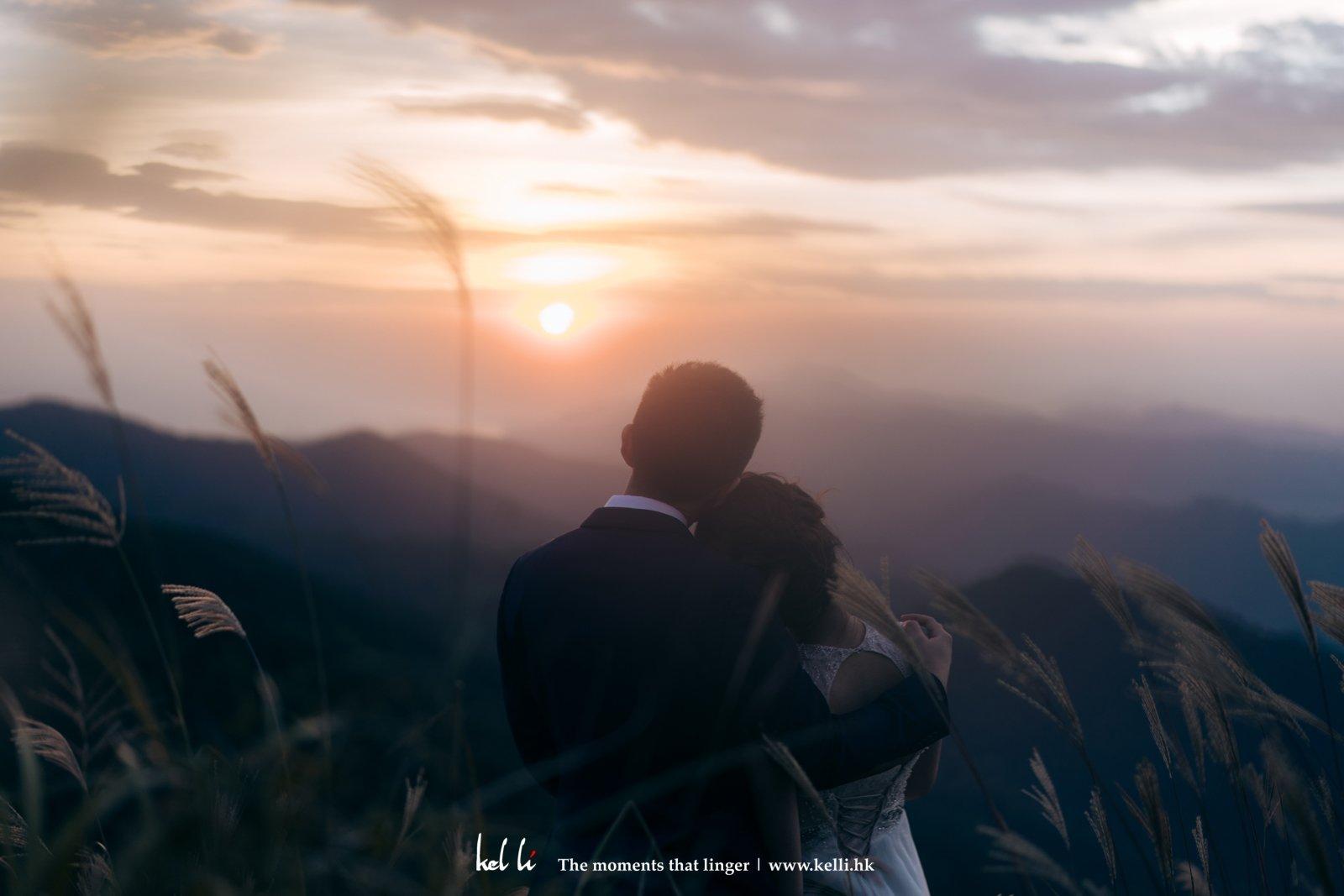 Prewedding in sunset