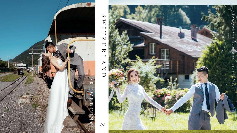 【格林德瓦沒有格林童話,只有長不大的我們】| Switzerland Prewedding | 瑞士婚紗攝影