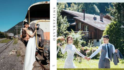 【格林德瓦沒有格林童話,只有長不大的我們】  Switzerland Prewedding   瑞士婚紗攝影