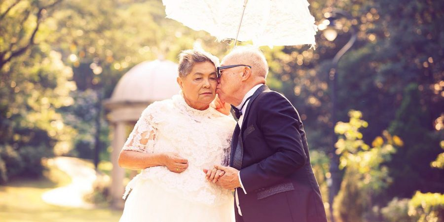 長者婚紗攝影 Elderly wedding photos