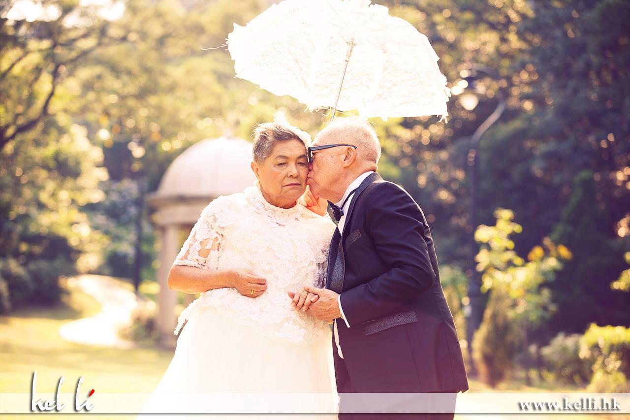 遲來的婚紗照 – 長者婚紗攝影
