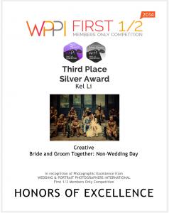 WPPI 婚紗攝影/pre-wedding 獎項