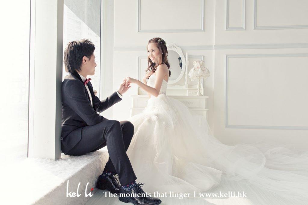 香港韓式影樓拍攝婚紗相, 韓式婚紗攝影