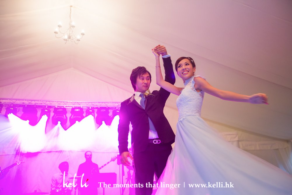 Dancing in the wedding ceremony