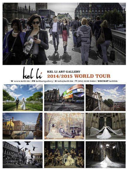 2015 WORLDTOUR 海外婚紗攝影檔期