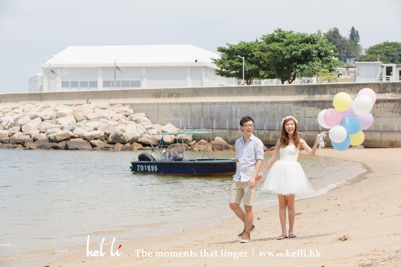 石澳沙灘影婚紗相