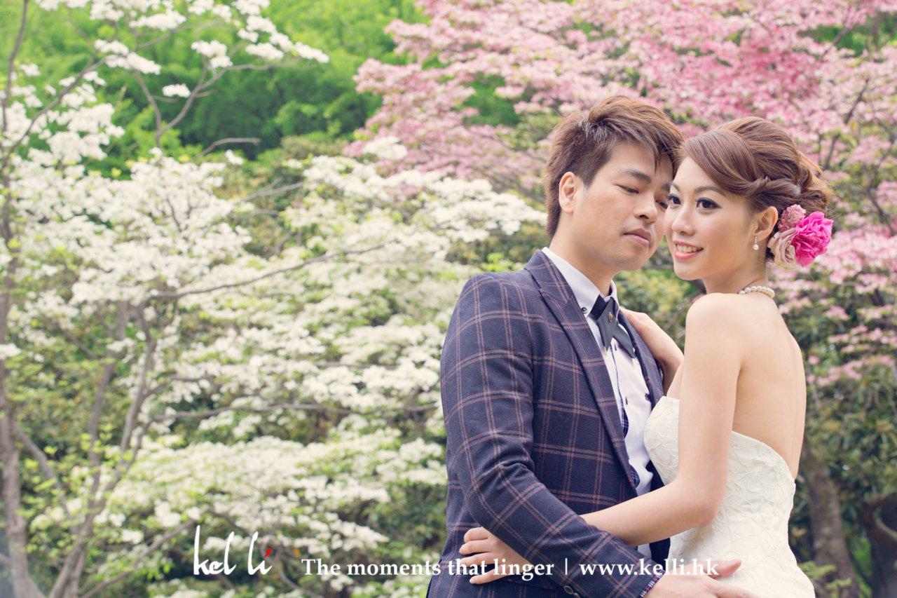 東京婚紗攝影 , 櫻花婚紗攝影