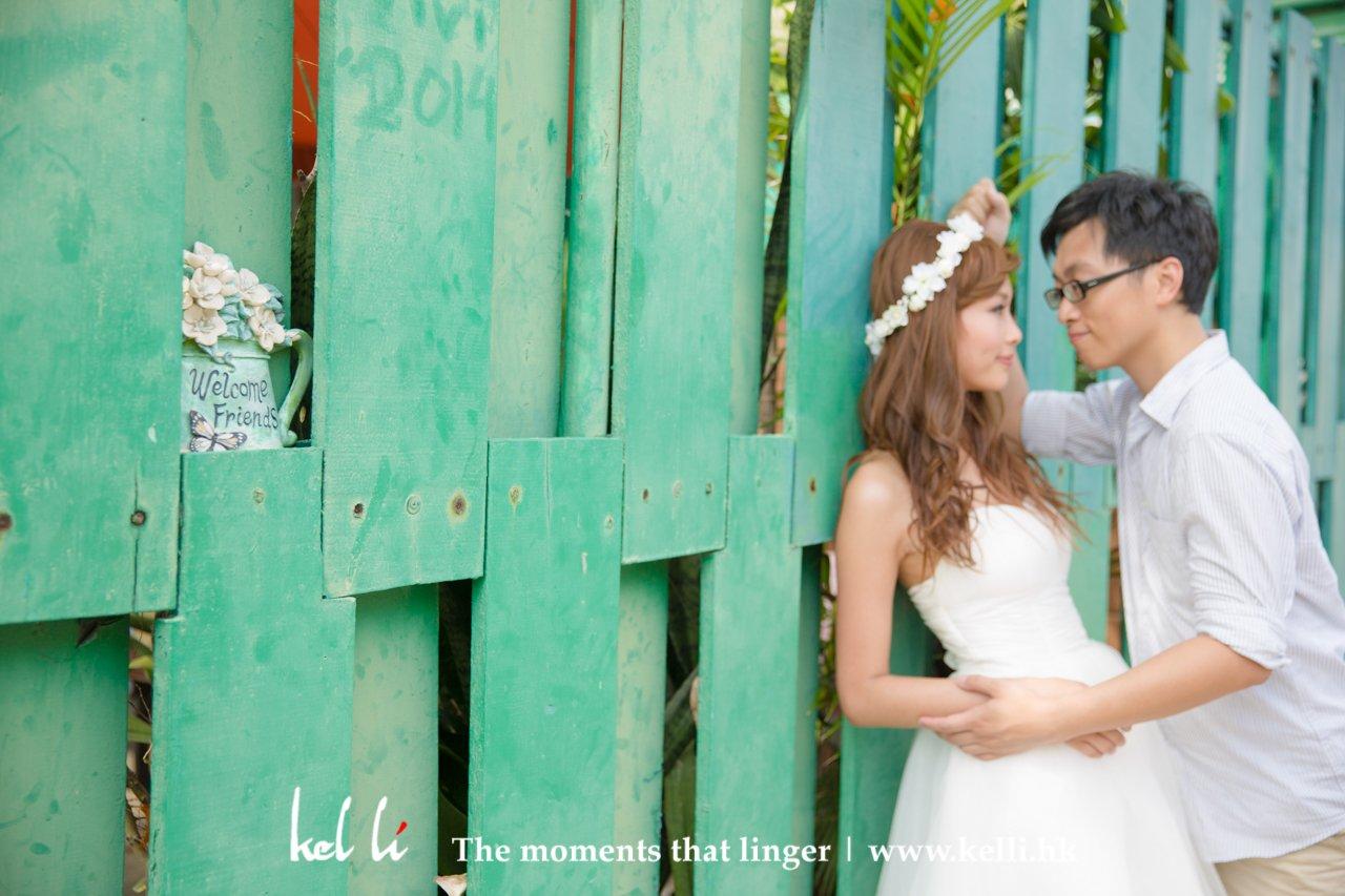 happy & natural prewedding