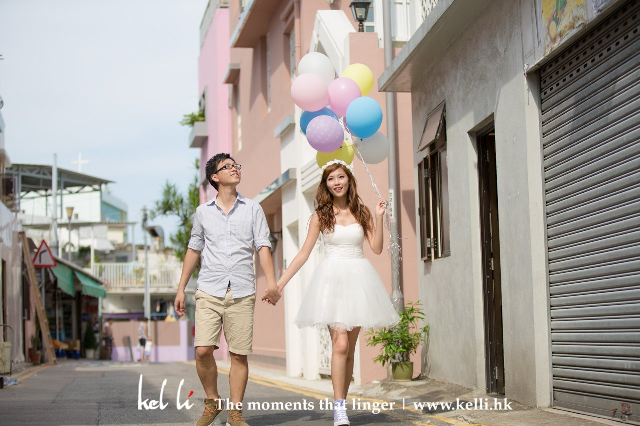 happy & natural prewedding