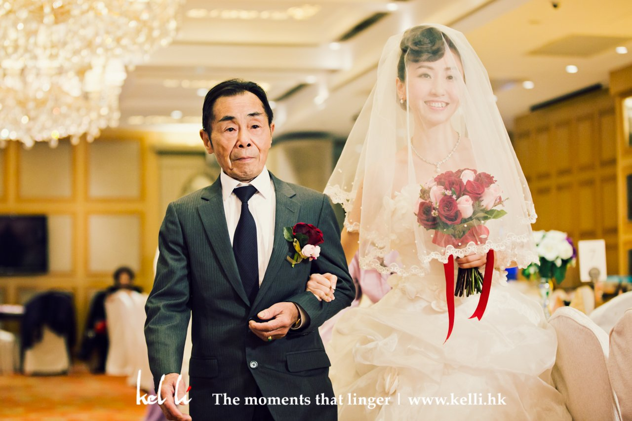 Marchin - father and bride