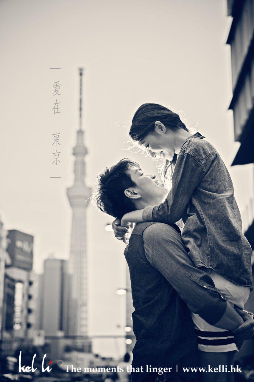 東京婚紗攝影 - 東京塔