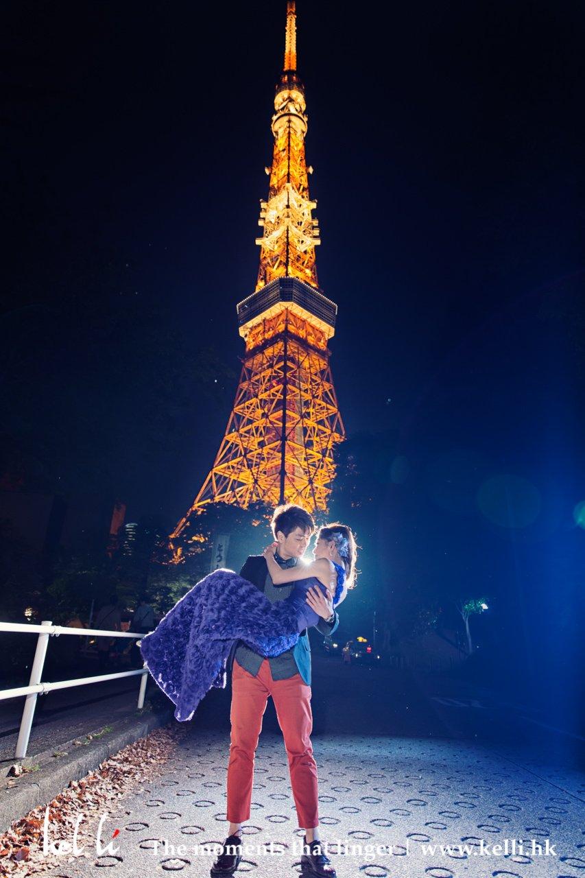 東京婚紗攝影 - 東京鐵塔拍攝, 東京婚紗攝影 - 雷門, 愛在東京, 東京婚紗攝影 - 東京塔, 東京婚紗攝影 - 街頭拍攝, Tokyo 東京婚紗相, 東京婚紗照, 日本婚紗照, 日本東京婚紗照, 婚紗攝影