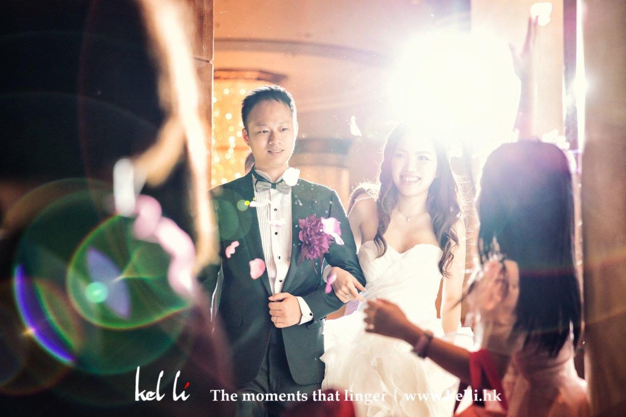婚禮攝影 - march in