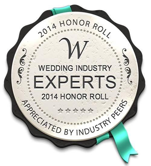我們很高興獲得 Wedding Industry Experts 機構的2014 Honor Roll,我們是香港首間受該外國機構認承的公司。