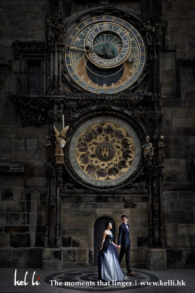 這一刻,時間為我們驗証愛情的存在,布拉格天文鐘, Astronomical Clock