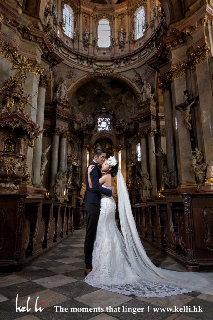 布拉格教堂, Prauge Church, 布拉格婚紗照, 布拉格婚紗攝影, 布拉格結婚, Prague Prewedding, Prague Pre-wedding Photos, Prauge wedding