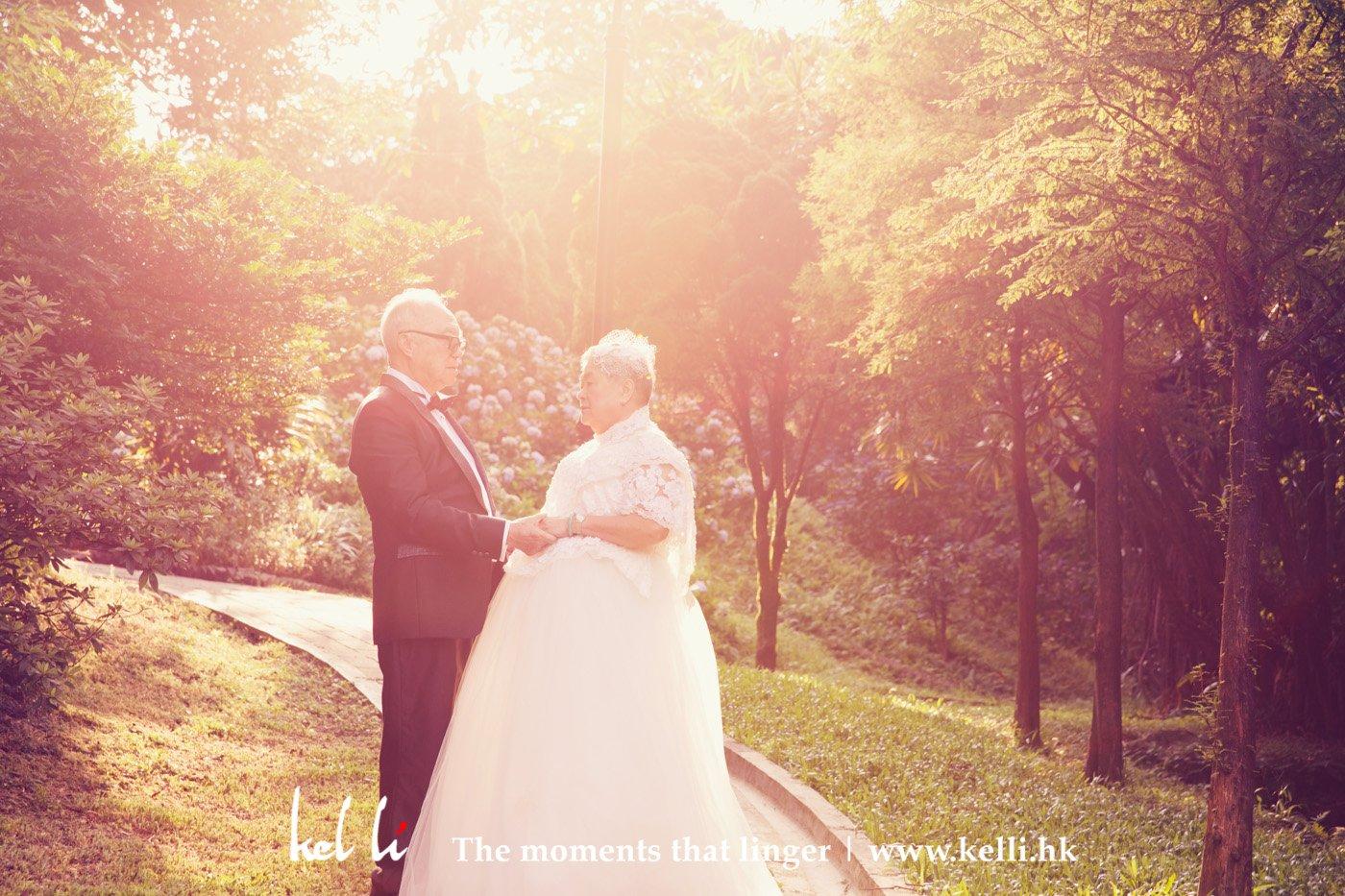 潘伯及潘太的婚紗照