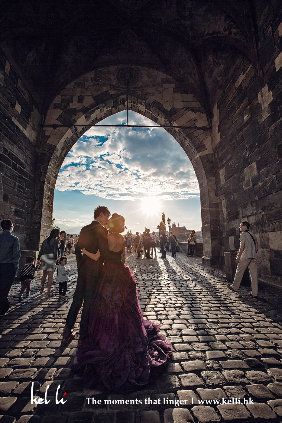 在查理大橋的斜陽 | Prewedding in Charles Bridge