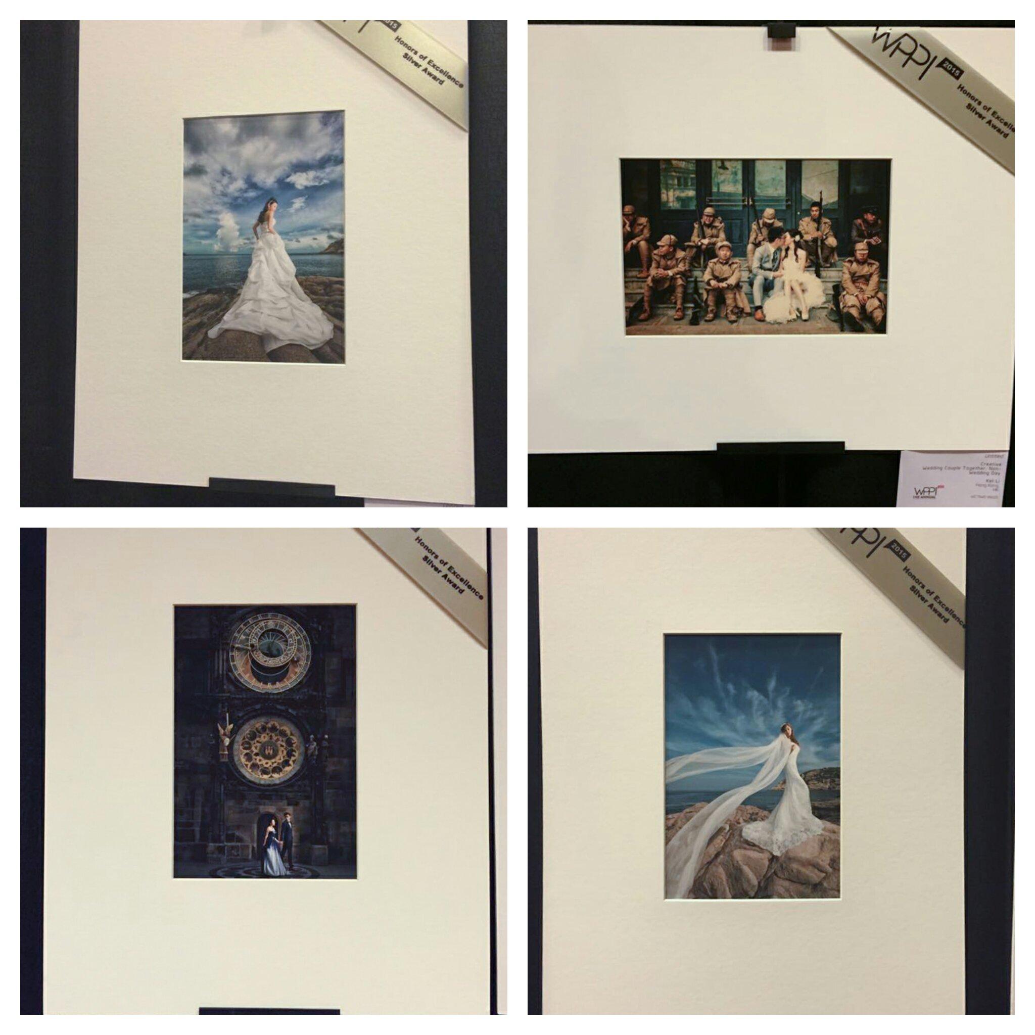 WPPI Competition, WPPI Honors of Excellence - Silver Award, Wedding Award, 婚攝獎項, 得獎攝影師, 國際攝影師