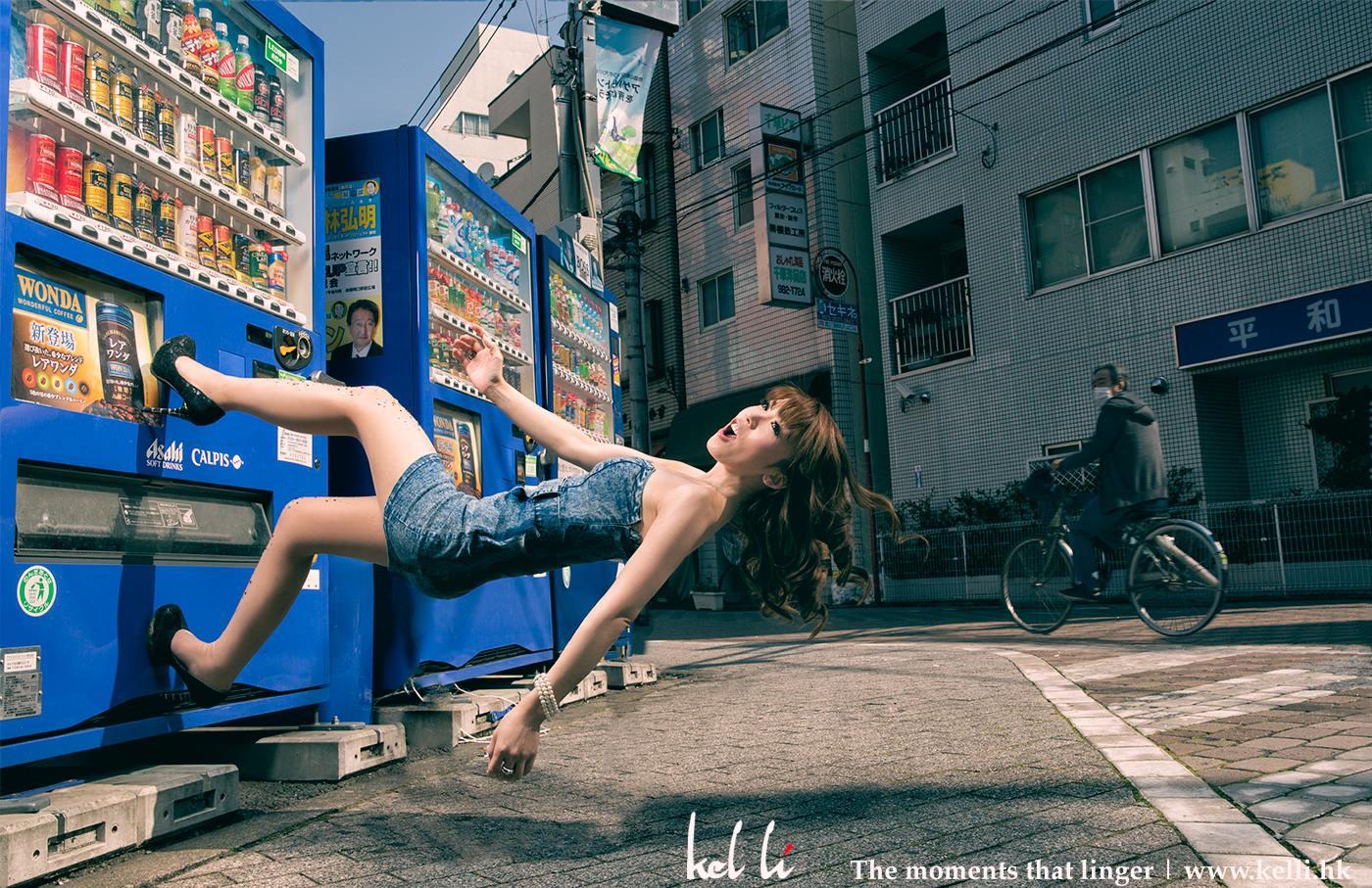 Kel Li Art Gallery - #WeighNoMore #TokyoPhoto #JapanFun #TokyoFunShooting #重力無視 #無重量