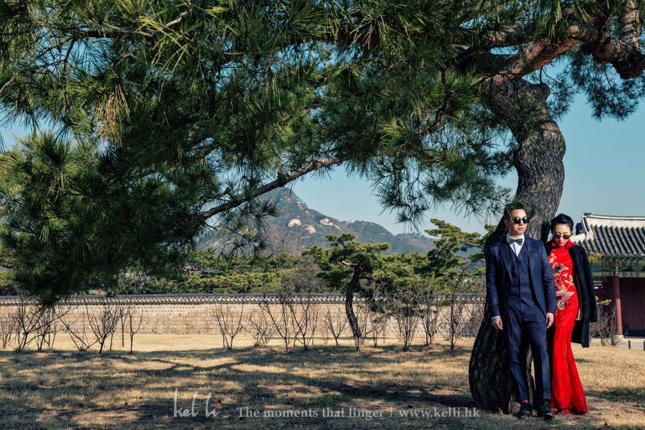 首爾最大皇宮拍攝