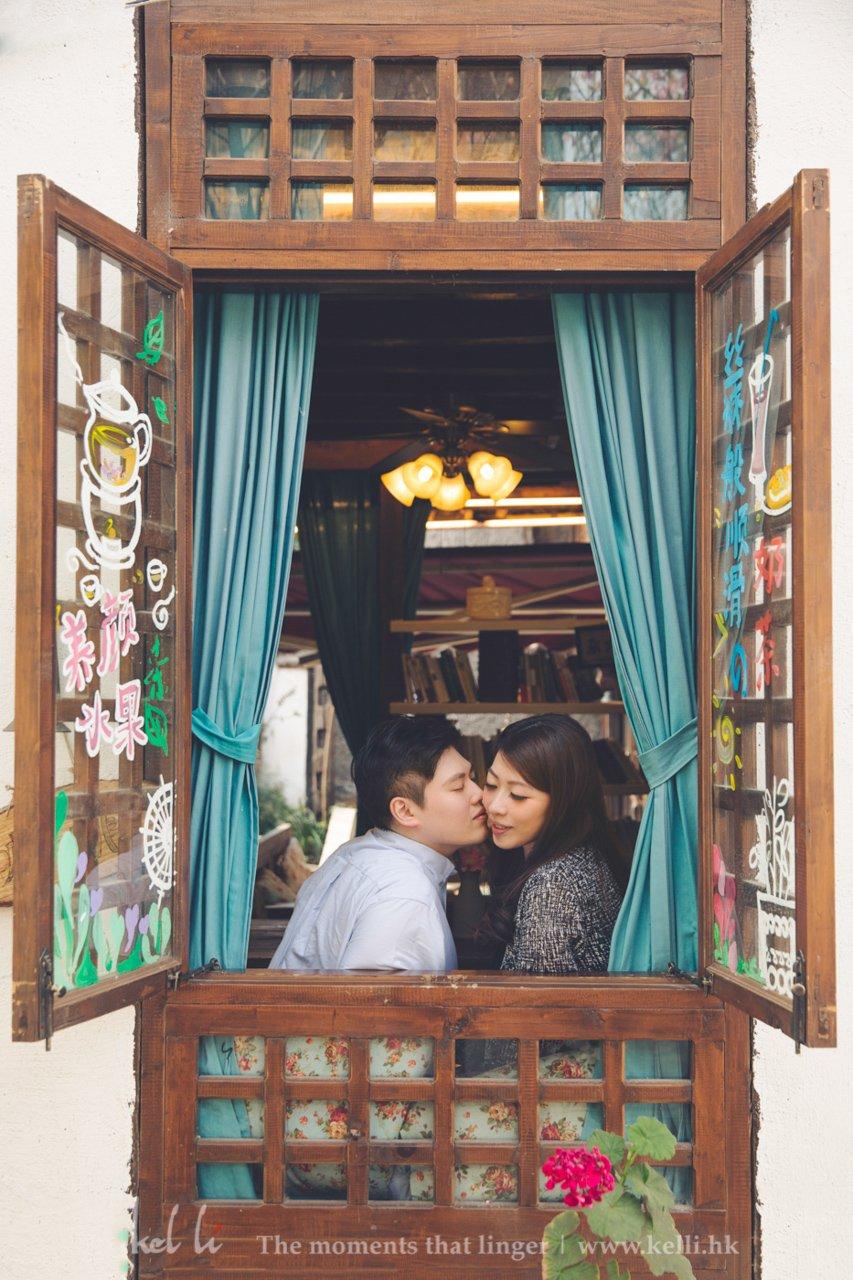 拍摄于丽江的一间cafe