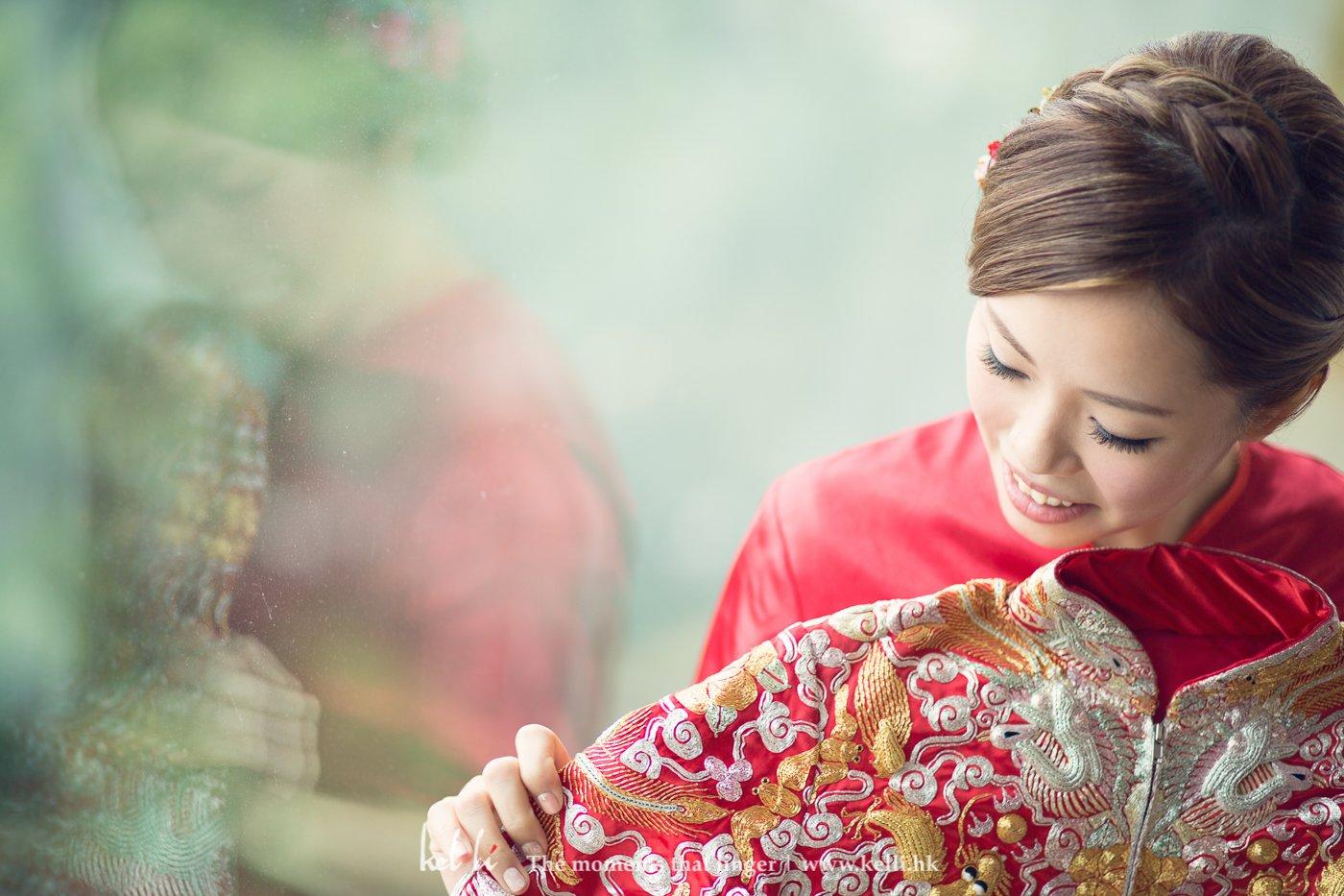 Kel Li Art Gallery - 作為化妝師的新娘