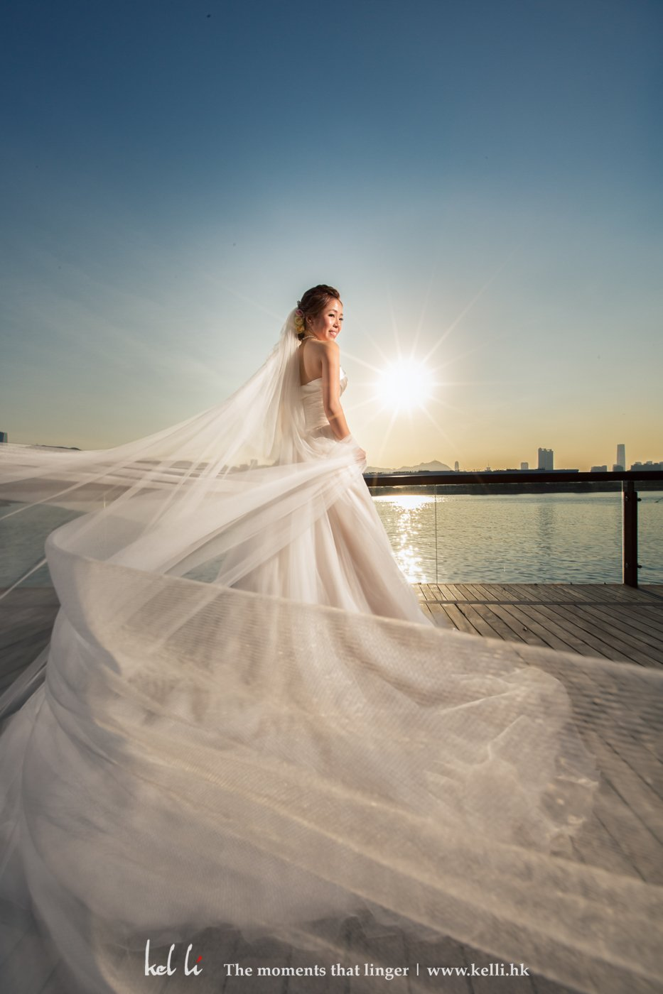 新娘戶外單人照片