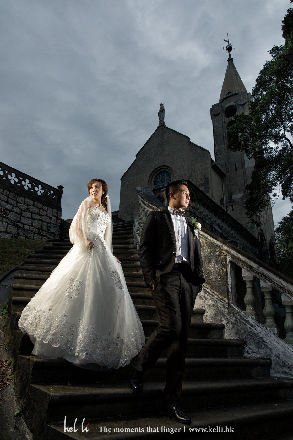 還是主教山的婚禮照片