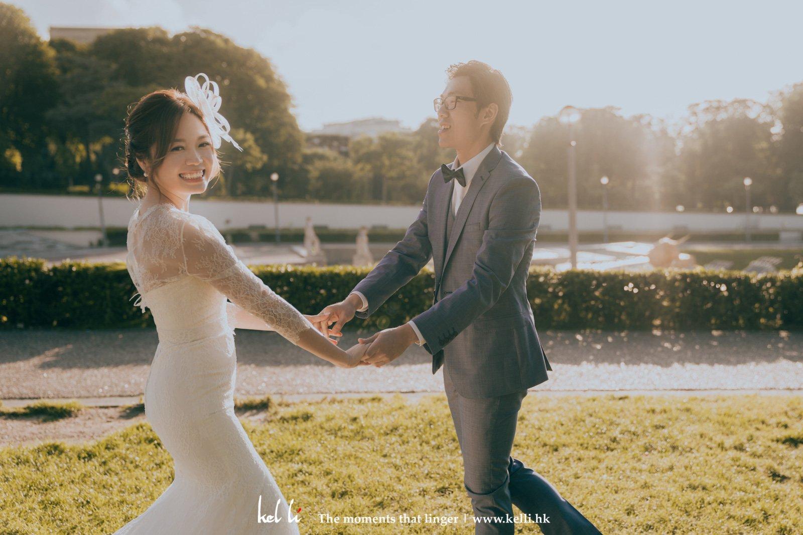 日出的巴黎婚相