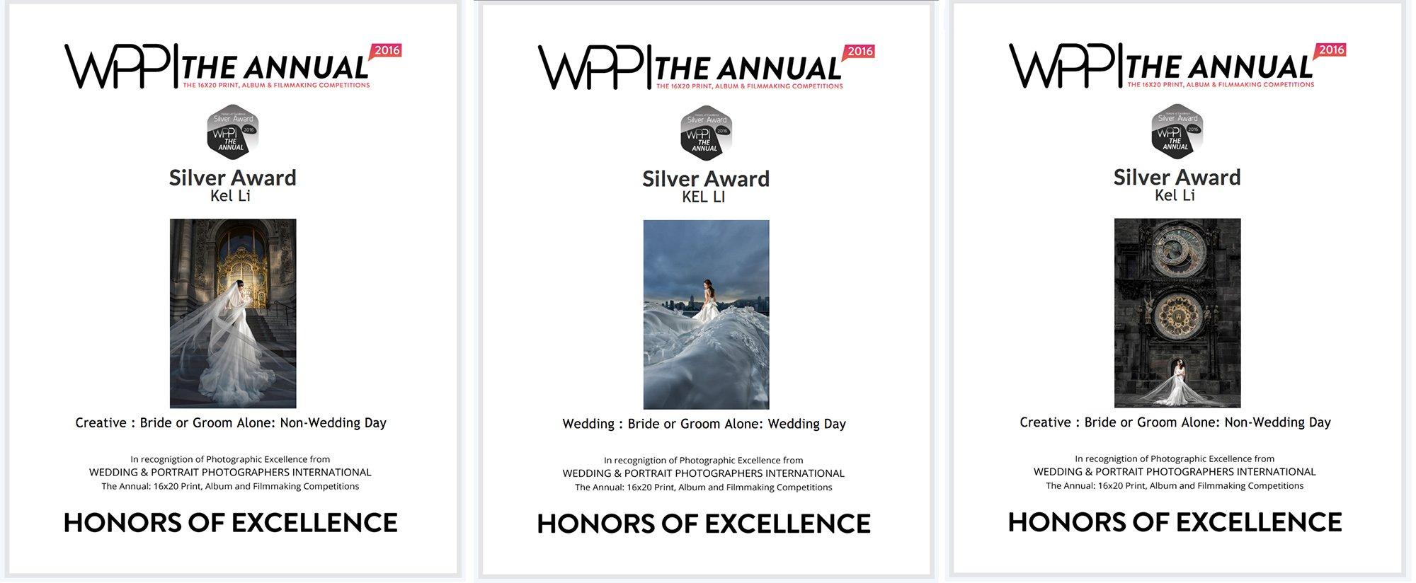 美國年度WPPI打印比賽獎項