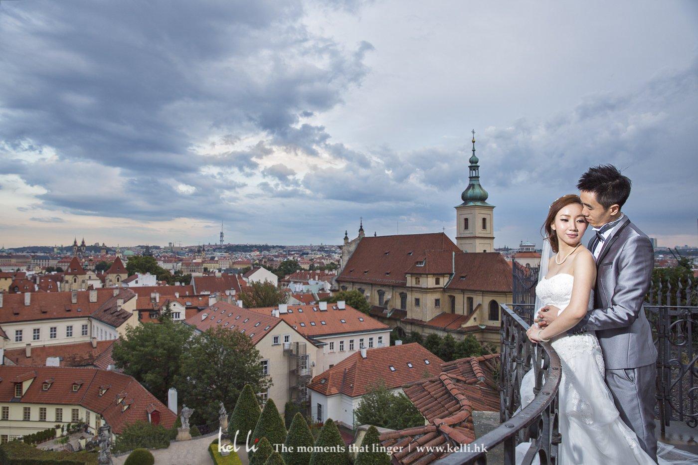 能夠拍得布拉格全景的地方並不多,這裡是其中一個