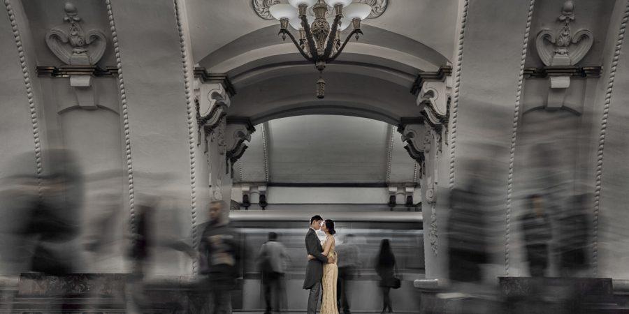 Moscow prewedding