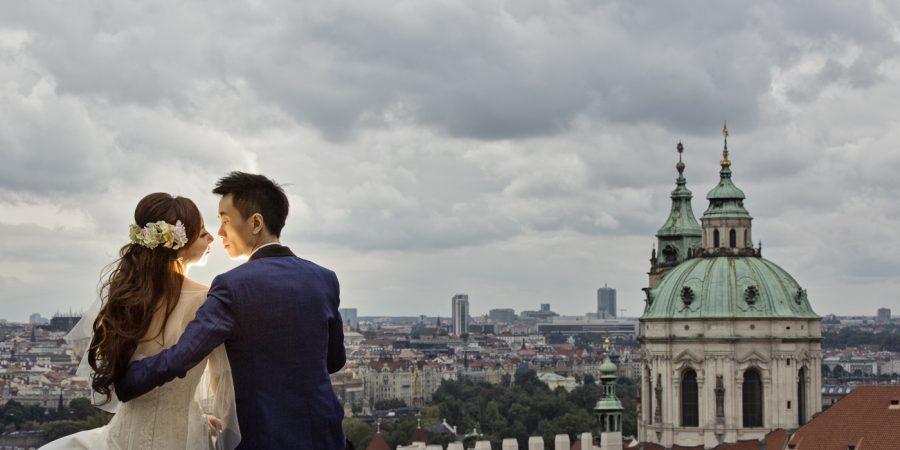 布拉格全景 婚紗攝影