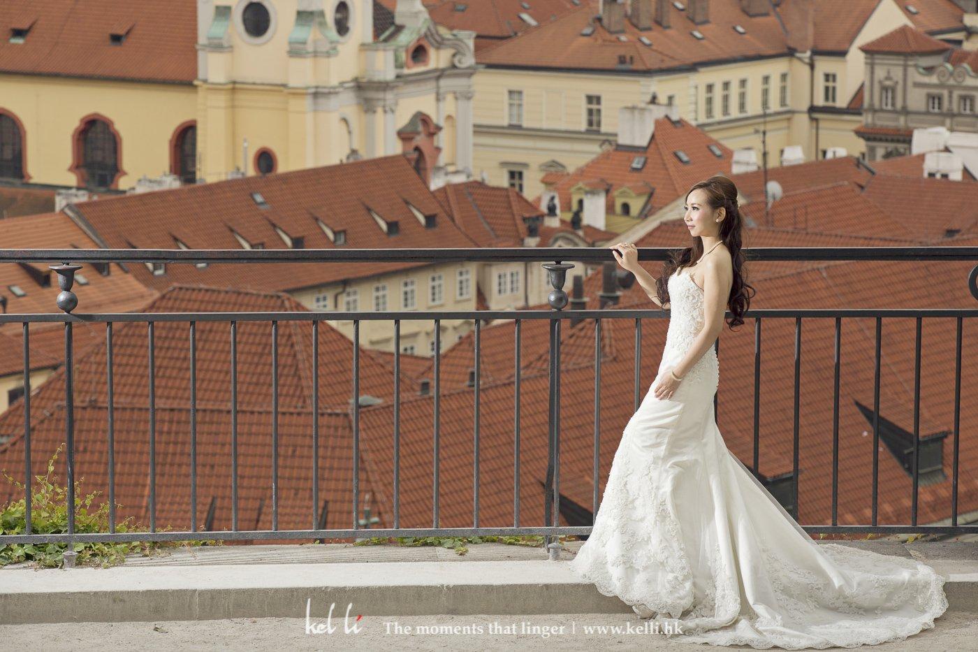 紅磚屋頂是布拉格的一大特色