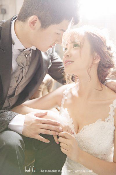 影樓影婚紗相有時會拍出一些戶外拍不出來的效果