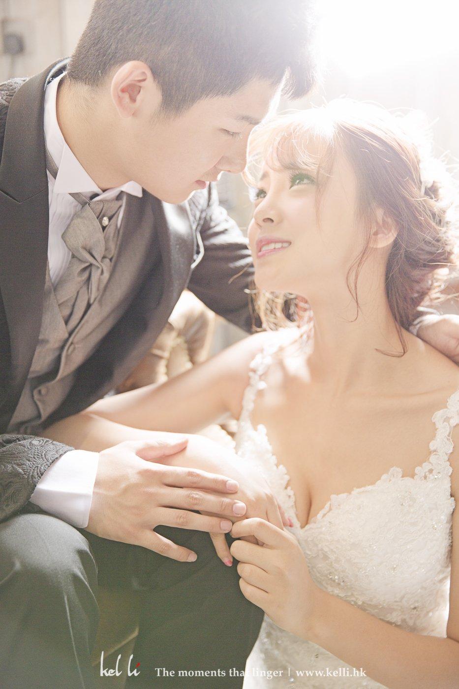 我們史上最年輕的婚紗攝影客戶