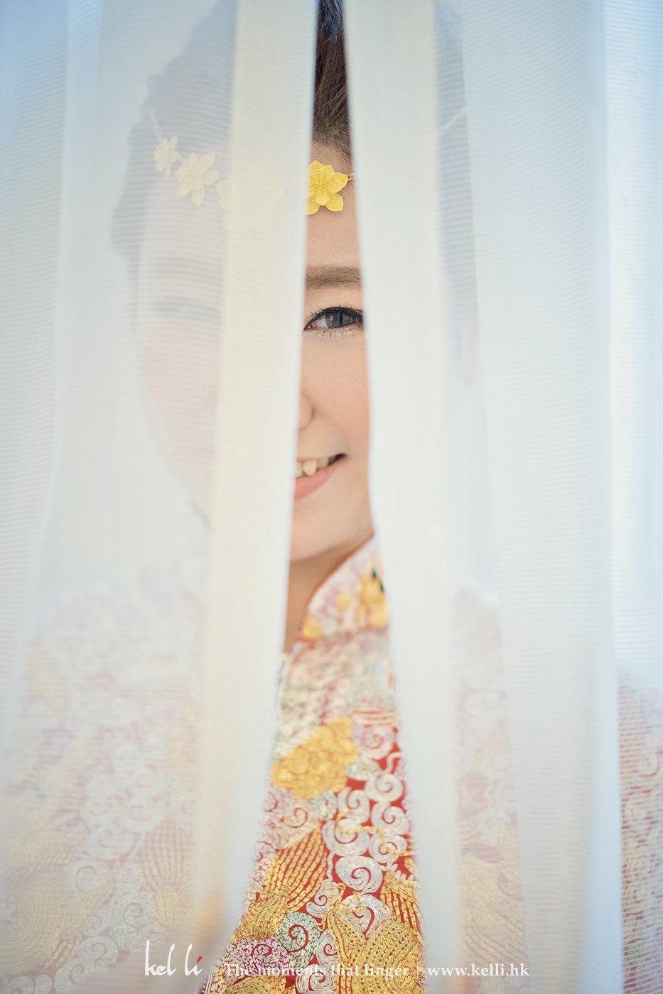 新娘有懂得笑的眼睛, 我們當然不會錯過