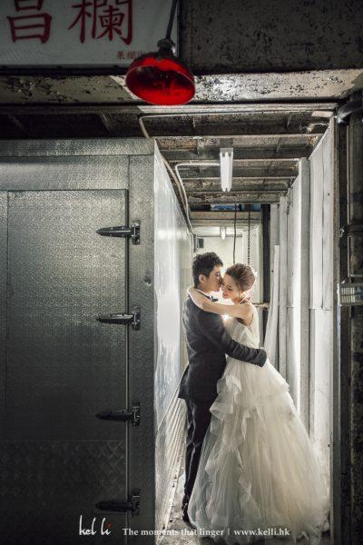 果欄的橫巷都有很獨特的味道 ,用來做婚紗攝影都很合適