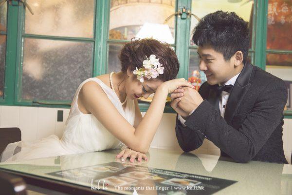 拍出二人的甜蜜係婚紗照重要的一環