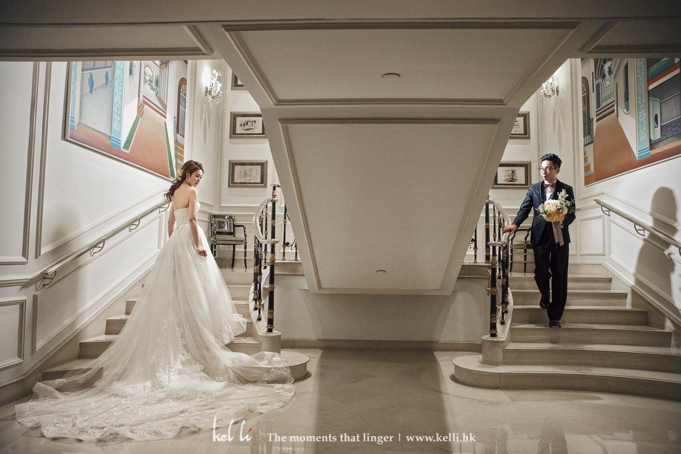 我們會拍攝一些富電影感的婚紗照