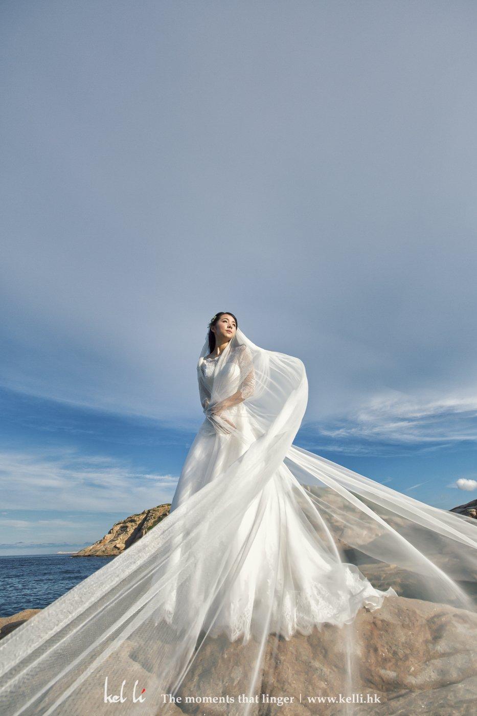 飞纱的婚纱照