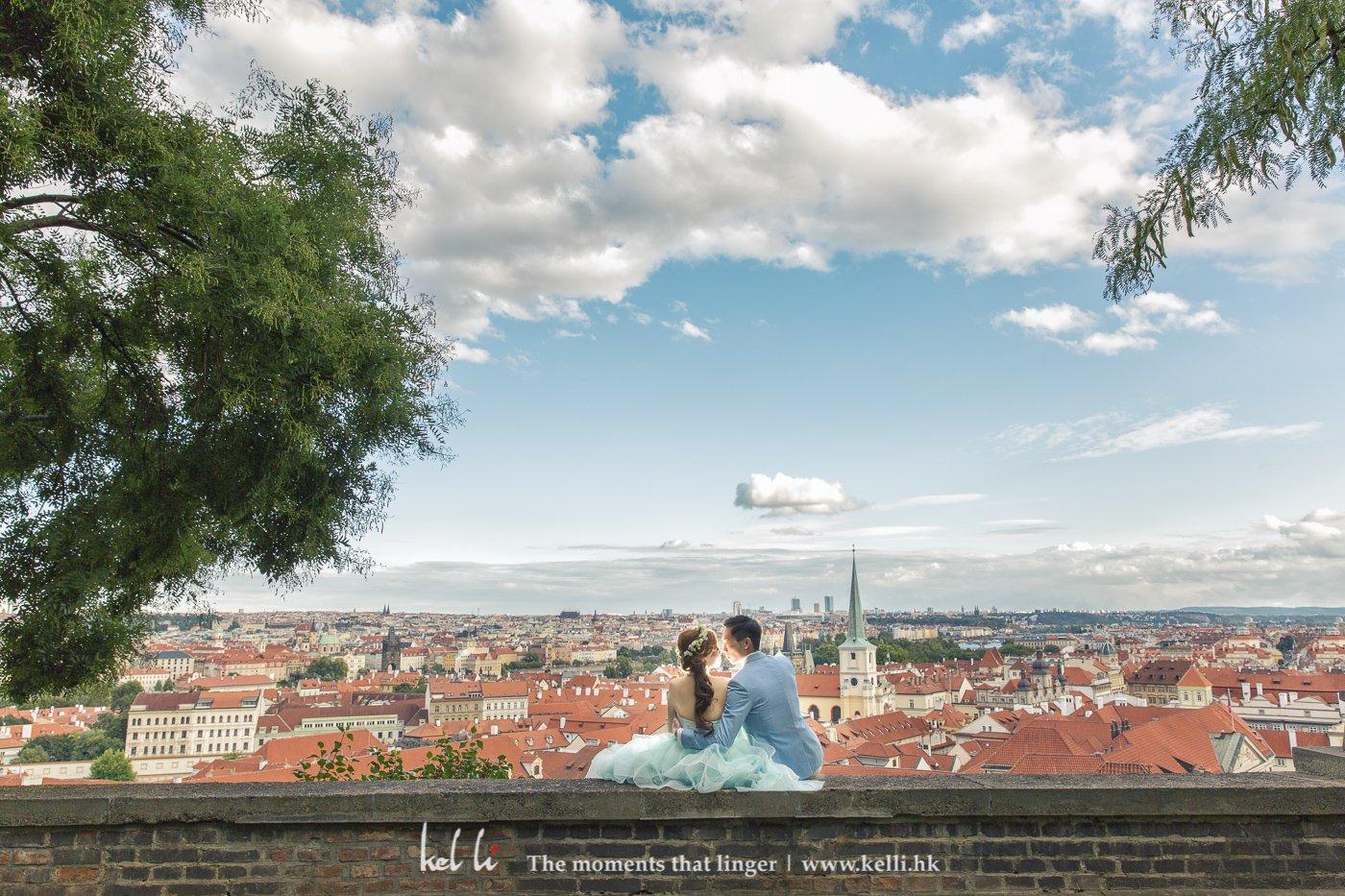不同的高处,不同的布拉格全景