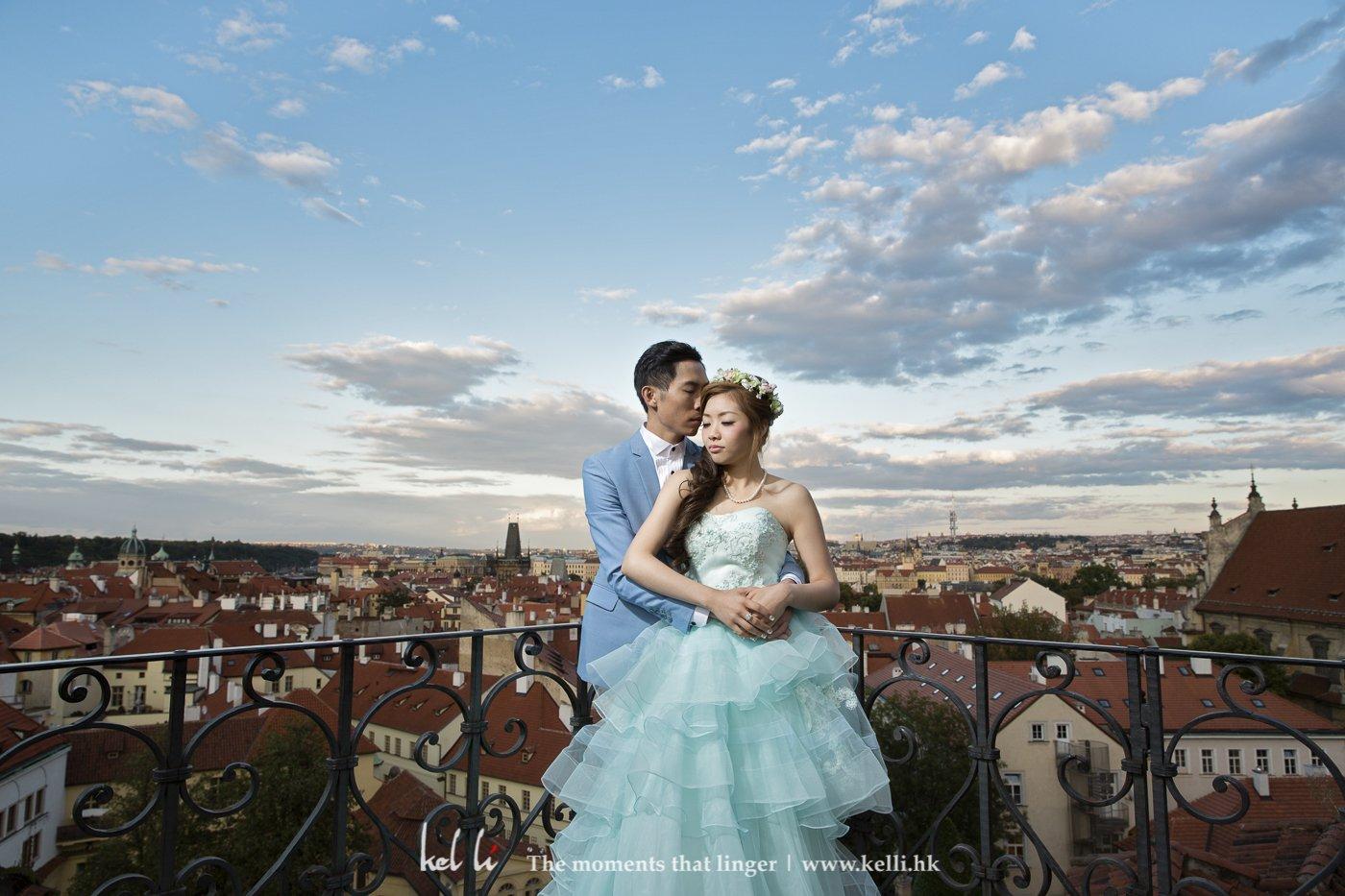 又是另一左看到布拉格全景的地方,怎样看也是一样美丽动人的地方