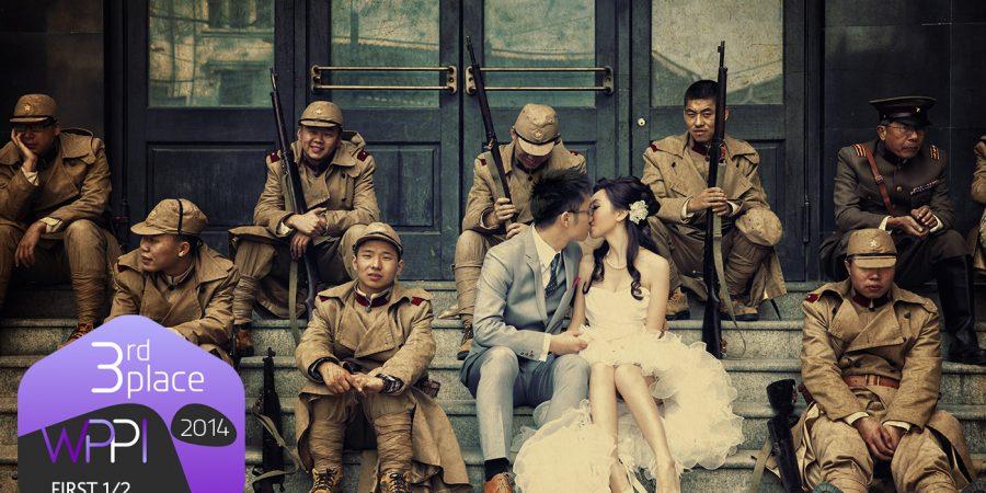婚紗攝影第三名