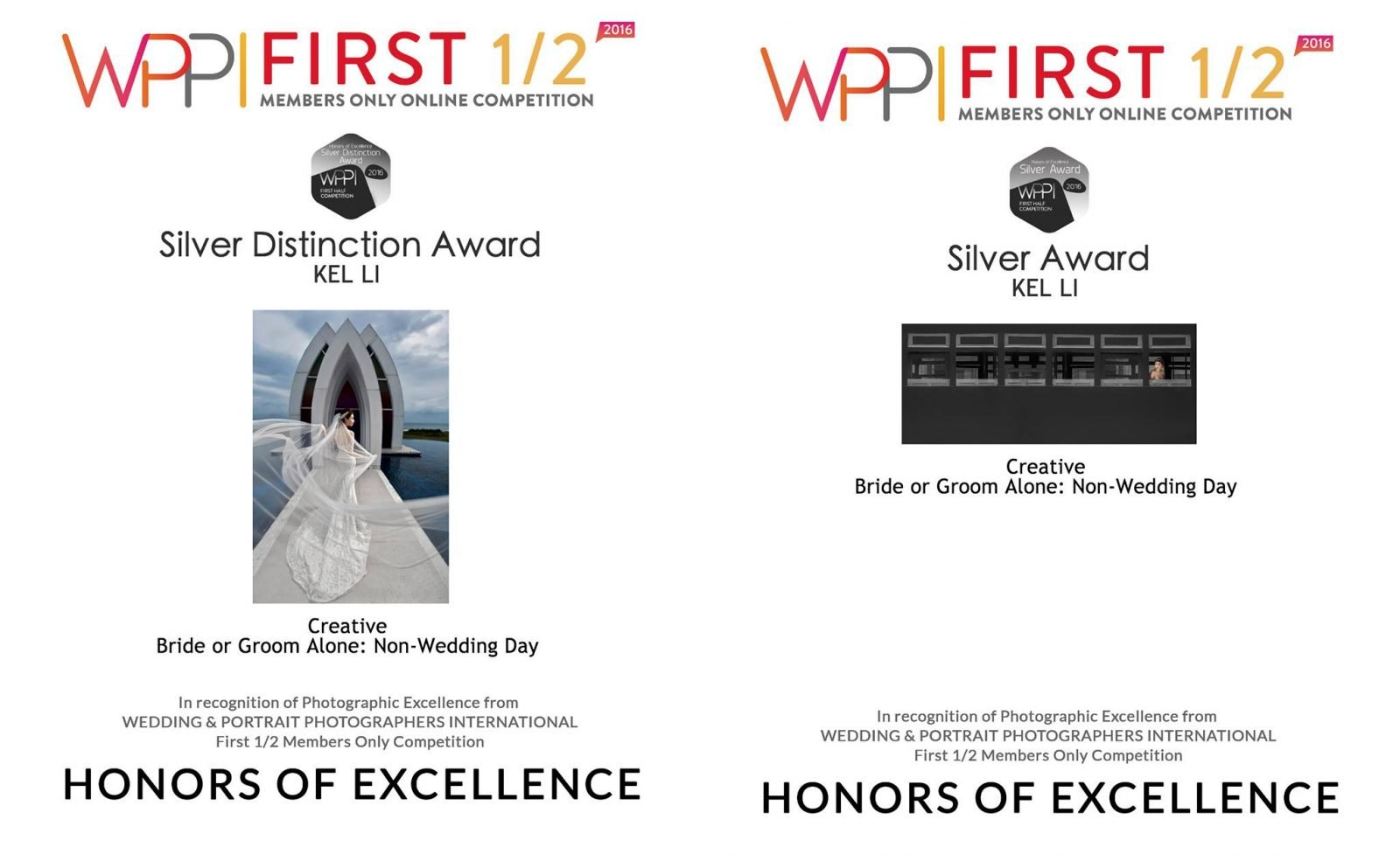 WPPI Silver Distinction - KEL LI