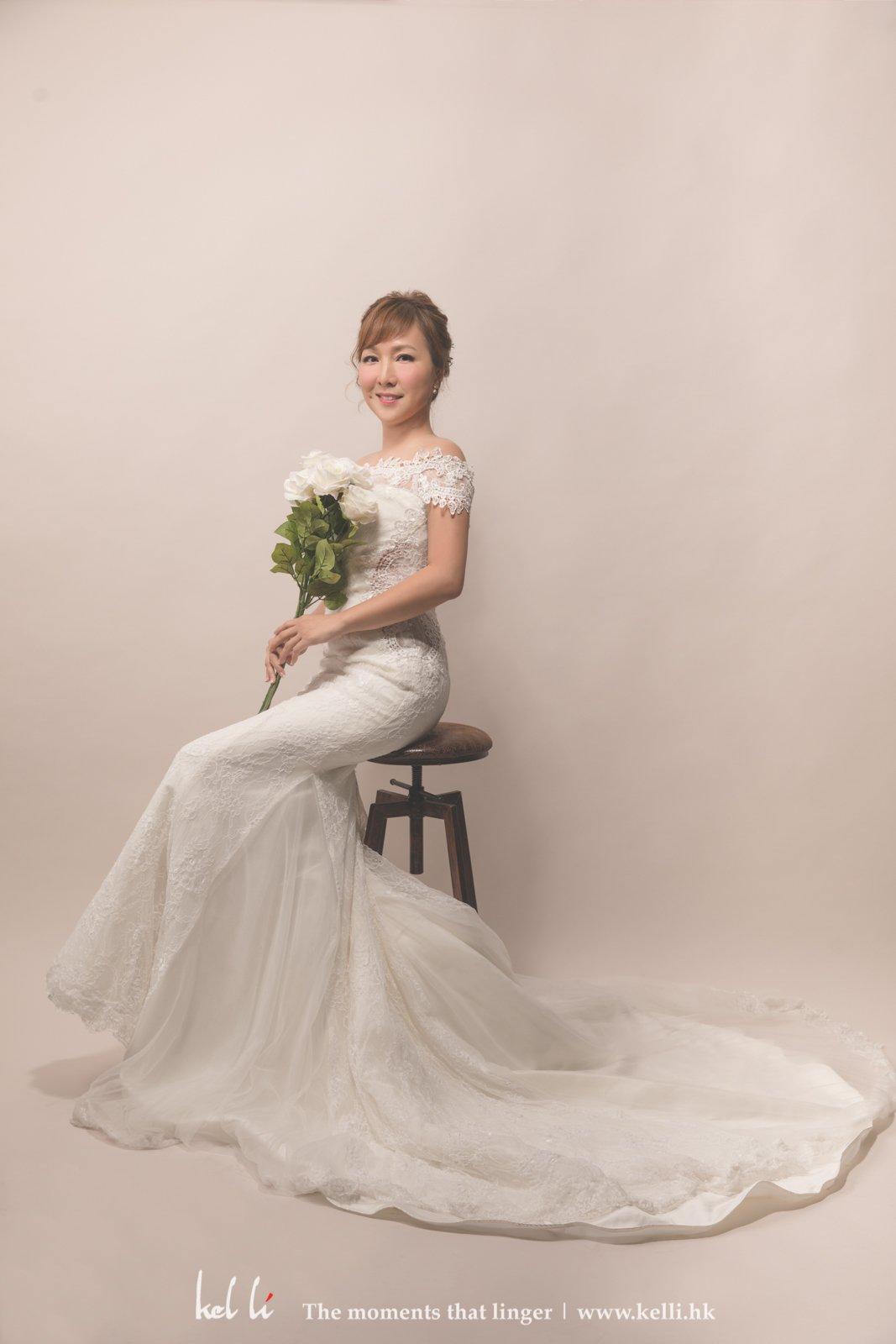 新娘個人婚紗照