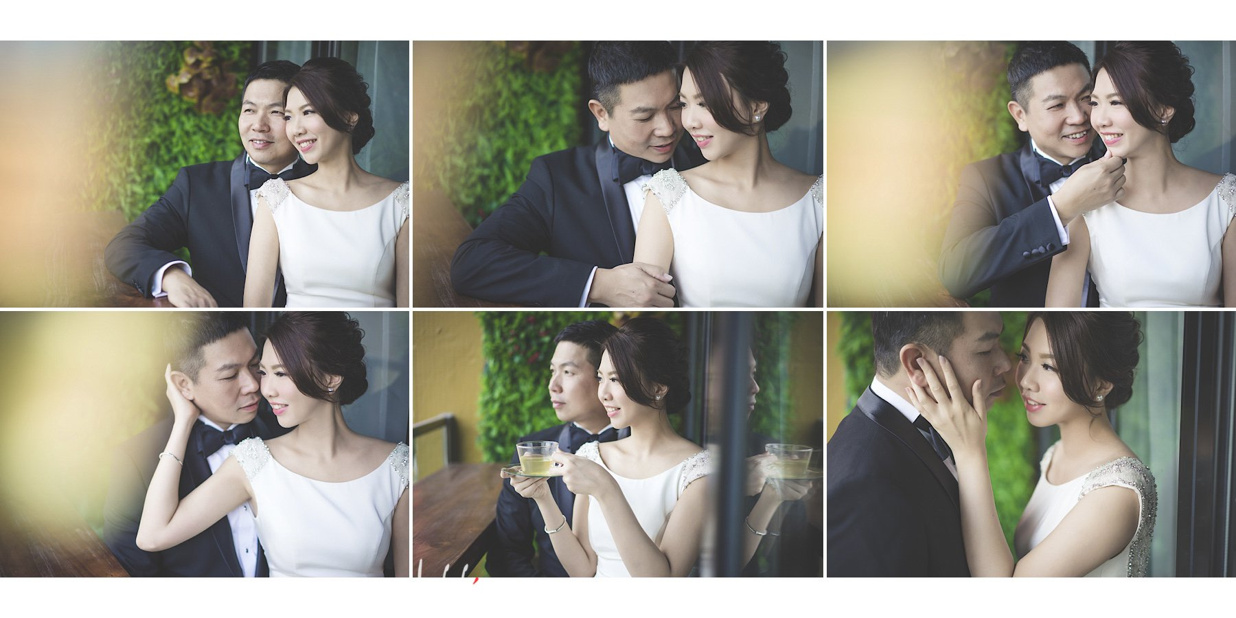 Tammy & Andy's Prewedding (studio shoot) | 影樓/室內婚紗攝影