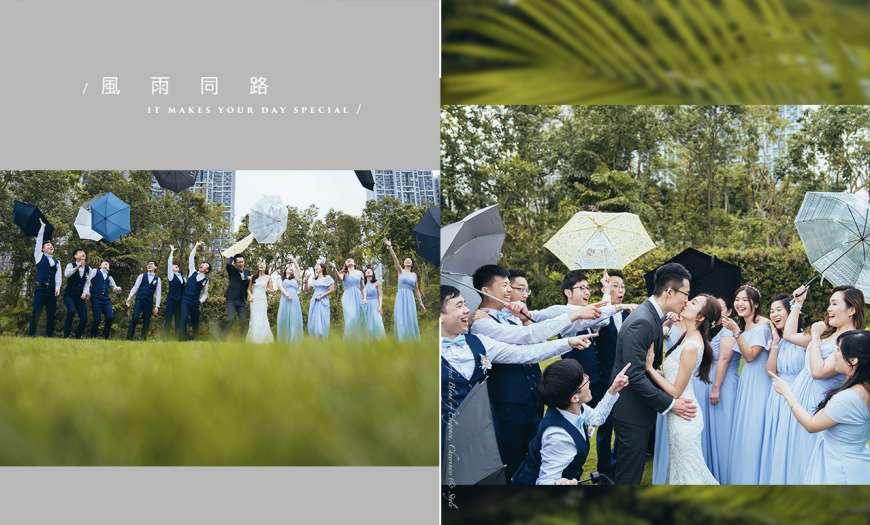 萬一婚禮個日落雨點算呀?  Big Day Photography   香港婚禮攝影