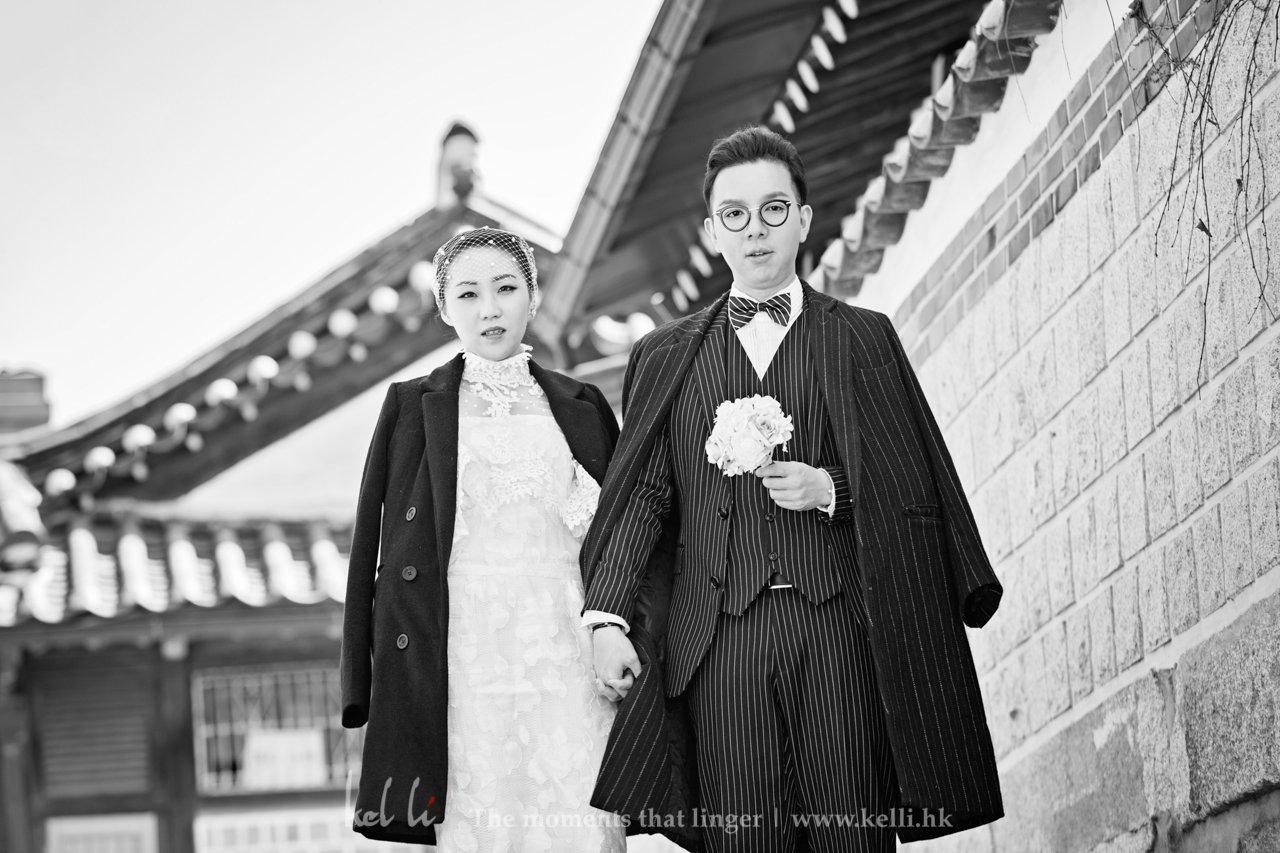 [超好玩有片]首爾,戶外婚紗拍攝也可以很有特色